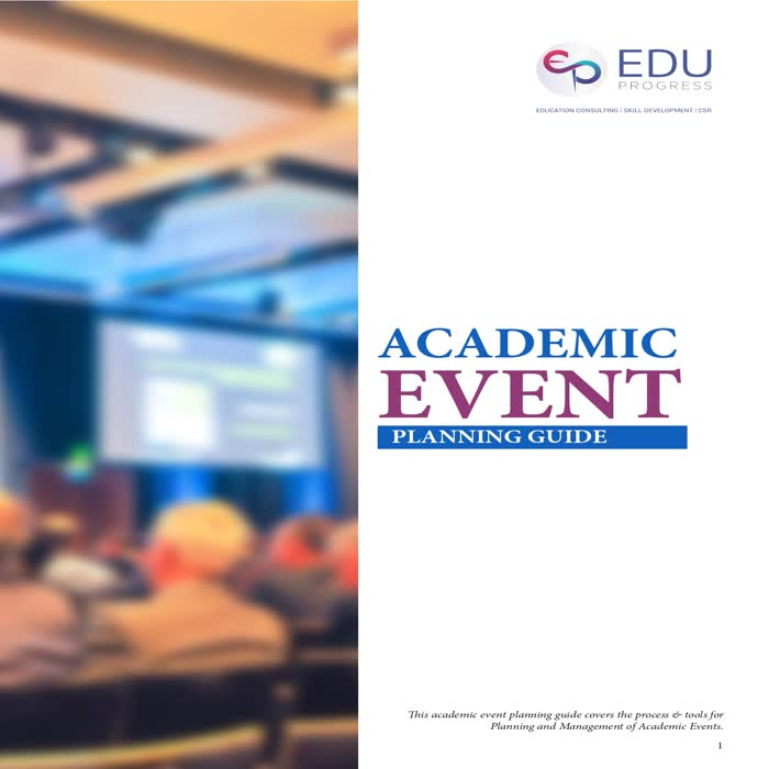 Academic Event Planning Guide Booklet